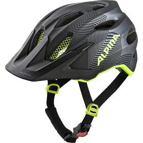Alpina Carapax Helmet Juniors black-neon-yellow